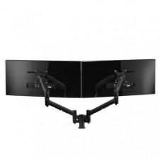 Systema SDS10B Dual monitor spring arm 100mm post desk mount (Black)