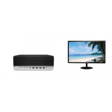 HP ProDesk 600 G5 SFF 46Q61PA-  i3-9100 / 4GB 2666MHz / 256GB SSD / W10P / 3-3-3 + Dahua DHI-LM24-S420 (24 inch) FHD LED 1920x1080