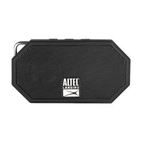 Altec Lansing Mini H20 3 Black - EVERYTHING PROOF Rugged & waterproof Bluetooth speaker (6 hrs Battery)