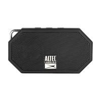Altec Lansing Mini H20 3 Black - EVERYTHING PROOF Rugged & waterproof Bluetooth speaker (6 hrs Battery, On-board microphone)