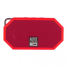 Altec Lansing Mini H20 3 Red - EVERYTHING PROOF Rugged & waterproof Bluetooth speaker (6 hrs Battery)