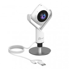 J5create 360 All Around Conference Webcam for Huddle Rooms - Full HD 1080p video playback @ 30 Hz Model: JVCU360