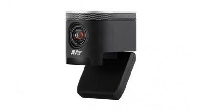 Aver CAM340+ USB 4K Portable Huddle Room Conference Camera (4K, USB, 120 FOV, 4x Digital Zoom, Microphone)
