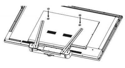 Aver VB342 TV mount and mounting screws