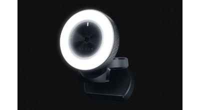 Razer Kiyo FHD Streaming Webcam with Ring Light Illumination  - 1 Year Warranty