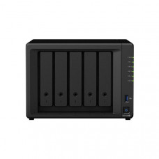 Synology DiskStation DS1520+  5-Bay 3.5 inch Diskless 4xGbE NAS (Tower),Intel Celeron J4125 4-core 2.0GHz,8GB RAM,2xUSB3,2x eSATA,3Yrs Wty.