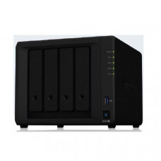 Synology DiskStation DS420+ 4-Bay 3.5 inch Diskless, Intel Celeron J4025 2-core, 2xGbE NAS (SMB) - 2GB RAM, 2 x USB3, 3 years wty
