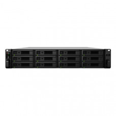 Synology RackStation SA3200D Dual Controller, 12-Bay 3.5 inch Diskless 2xGbE/1x10GbE T x , Intel Xeon D-1521core,8GB RAM. Redundant PSU,SAS only