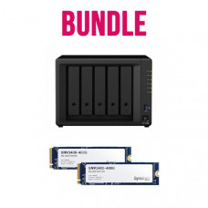 Synology Bundle 2- DS1520+ x 1 NAS +  2 x Snology NVMe SNV3400-400G