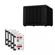 Synology Bundle - DS918+ x 1 NAS +  WD Red 6TB HDDs x 4