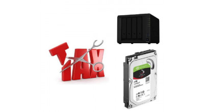 Synology Tax Saver - DS420+ + 4 x Seagate 4TB IronWolf Hard Drives