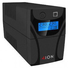 ION F11 650VA Line Interactive Tower UPS, 2 x Australian 3 Pin outlets, 3yr Advanced Replacement Warranty.