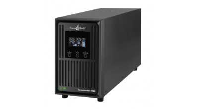 NQR PowerShield Commander 1100VA / 990W Line Interactive Pure Sine Wave Tower UPS- Box Open