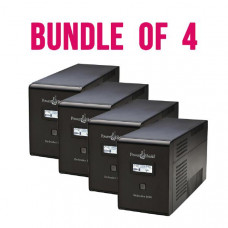 Bundle 4 x PowerShield Defender 1600VA / 960W Line Interactive UPS with AVR, Australian Outlets and user replaceable batteries.