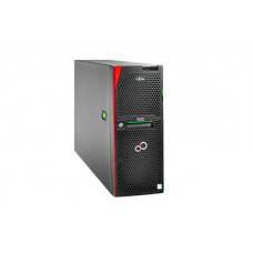 Fujitsu TX2550 M5, XEON Silver 4208 8C (1/2), 16GB DDR4 -2933 R ECC (1/24), 2.5 inch SATA/SAS (0/8), EP420i, IRMC, 800W (2/2), TOWER, 3YR ONSITE