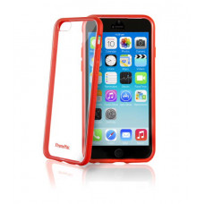 XtremeMac MICROSHIELD ACCENT - RED Protective Case for IPHONE 6 - Compatible with iPhone 6 & 6S
