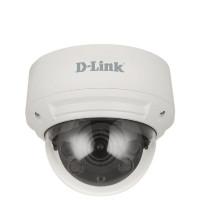 D-Link Vigilance 8MP Day & Night Outdoor Vandal-Proof Dome PoE Network Camera with Varifocal Motorised Lens