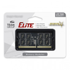 Team Elite SODIMM PC-19200 DDR4 2400MHz 1x4GB CL16  260Pin, 1.2V