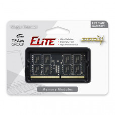 Team Elite SODIMM PC-19200 DDR4 2400MHz 1x8GB CL16 260Pin, 1.2V