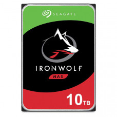 Seagate IronWolf NAS HDD 3.5 inch Internal SATA 10TB NAS HDD, 7200 RPM, 3 Year Warranty