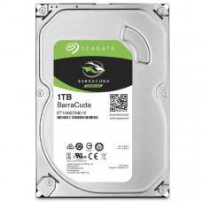 Seagate BarraCuda HDD 3.5 inch Internal SATA 1TB Desktop HDD , 6GB/S SATA  2 Year Warranty