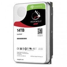 Seagate IronWolf NAS HDD 14TB ST14000VN0008 3.5 inch Internal SATA 6Gb/s, 7200 RPM, Cache 3 Year Wty