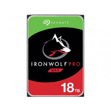 Seagate IronWolf PRO NAS  Internal 18TB HDD, SATA 6Gb/s, 1.2M hours MTBF, 5-year limited warranty - Stock on Hand Promo