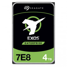 Seagate EXOS HDD Enterprise Capacity 3.5 inch Internal 7200RPM, 5 Year Warranty - 512E - 4TB SATA