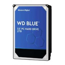 WD Blue 2 TB 3.5 - inch PC hard drive, SATA 6 Gb/s, 2 Year Warranty
