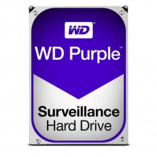 WD HDD 3.5 inch Internal SATA 4TB Purple, Variable RPM, 3 Year Warranty - WD40PURZ