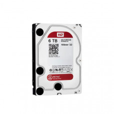 WD HDD 3.5 inch Internal SATA 6TB Red, Variable RPM, 3 Year Warranty