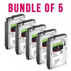 Bundle 5 x Seagate IronWolf NAS HDD 3.5