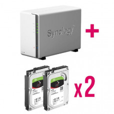 XNAS Bundle - Synology DS218J x 1 + 2 x ST4000VN008 - Bundle and Be Merry !!!