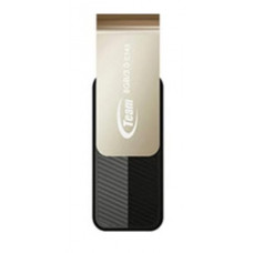 Team Group USB Drive 8GB, C143, USB3.0, Black, Rotating, Capless, READ 25MB/s, 15g, Lifetime Warranty
