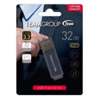 TEAM C211 USB3.2 Gentleman Grey Flash 32GB Lifetime Warranty