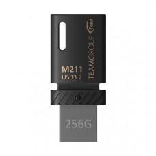 TEAM M211 OTG USB3.2 Dual Head USB Drive 256GB