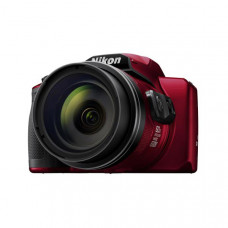 Nikon Digital Compact Camera COOLPIX B600, Red , 16MP, 60x Optical Zoom, Fixed Lens Mini HDMI