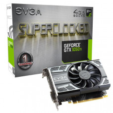 EVGA GeForce GTX1050 Ti SC Gaming Graphics Card, 4GB GDDR5, PCIE, Full Height, ACX 2.0 (Single Fan), DVI-D, DP, HDMI, Max 3 Outputs