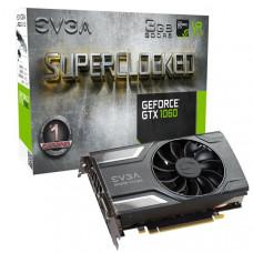 EVGA GeForce GTX1060 SC Gaming Graphics Card, 3GB GDDR5, PCIE, Full Height, ACX 2.0 (Single Fan), DVI-D, DP x3, HDMI, Max 4 Outputs