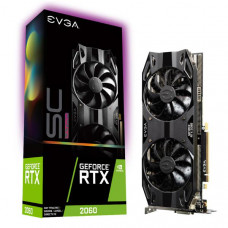 EVGA GeForce RTX 2060 SC ULTRA GAMING, 06G-P4-2067-KR, 6GB GDDR6, Dual HDB Fans