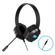 Gumdrop DropTech B1 Rugged Headset with Microphone - Compatible with all devices with a 3.5mm headphone jack (Bulk packaged in Poly bag)