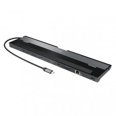 J5create JCD542 USB-C to  Dual HDMI Docking Station (USB-C to Dual HDMI,USB3.0x3, RJ45, SD/MicroSD card reader, USB-C PD 100W power pass-through)