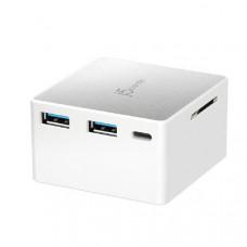 J5create JCDP385 USB-C Powered Mini Docking stations (USB-C to 4k HDMI, SD card reader, USB-C power delivery 2.0 (maximum 35W), 2 x USB-A ports)