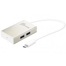 J5create JCH343 USB-C TYPE-C 4-PORT USB-A HUB