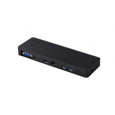 Fujitsu Port Replicator for U728/U748/U758/P727/T937/U937/U938/E558/E548 / U939X - USB Type-C Port Replicator (3 pin cable not included)