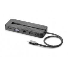 HP USB-C Mini Dock HDMI, VGA, USB 3.1, USB 2.0, RJ45, USB Type C