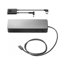 HP USB-C Universal Dock with 4.5 mm and USB Dock Adapter (DOES NOT CHARGE MOBILE WORKSTATIONS)