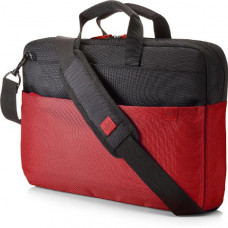 HP 15.6 inch Duotone Red BriefCase