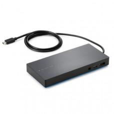 HP USB-C Dock -Y0K80AA- 45W USB Type C, USB (4), DP (1), HDMI (1), RJ45 (1), USB Type C (1)