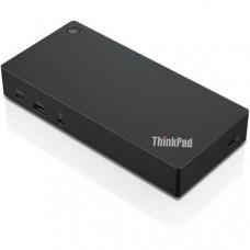 Lenovo ThinkPad USB-C Dock Gen 2 USB 3.1 (3), DisplayPort (2), HDMI (1), Gigabit Ethernet (1)